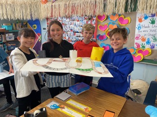 Pilgrim's Progress Fun! – 5th Grade Class